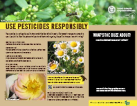 Use Pesticides Responsibly Sign