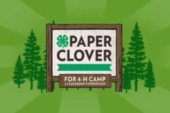 4-H Paper Clover Campaign