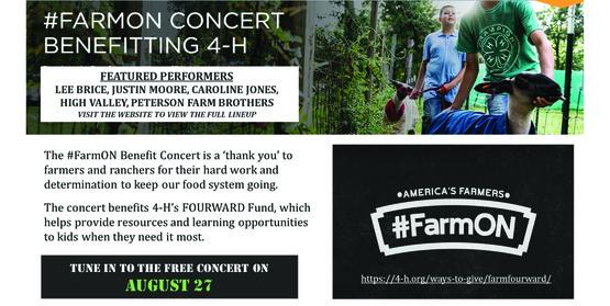 FarmON Benefit Concert