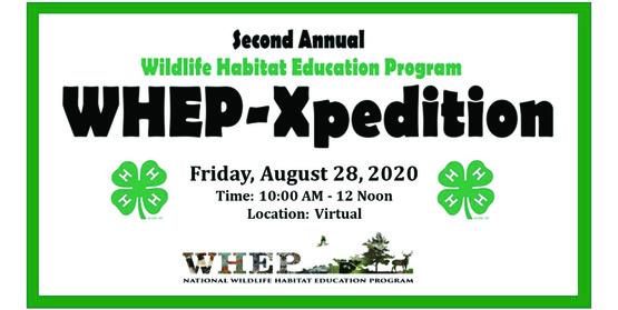 Wildlife Habitat Education Program WHEP-Xpedition