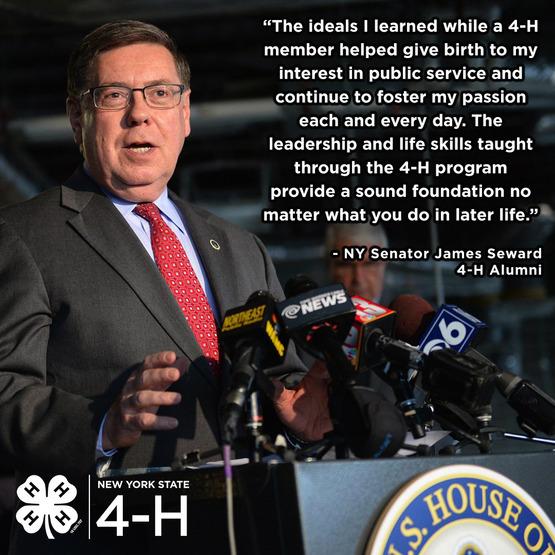 Senator Seward 4-H Quote
