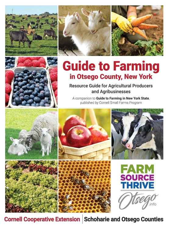 Guide to Farming in Otsego County