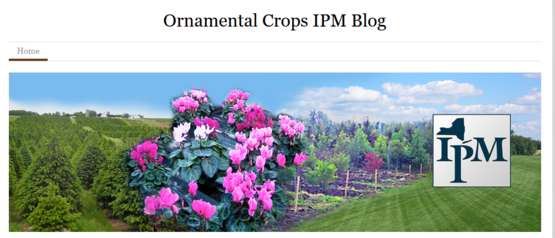 Visit the Ornamental Crops IPM Blog online