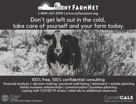 NYFarmNet free assistance for farmers