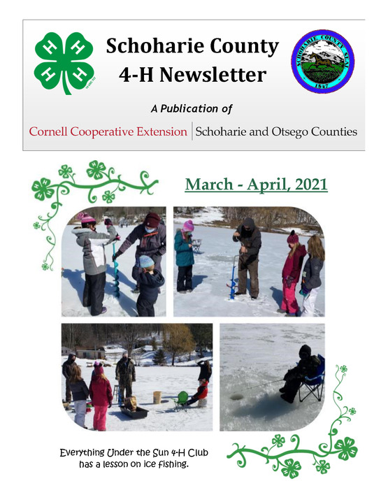Schoharie County 4-H Newsletter - March 2021