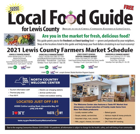 2021 Local Food Guide