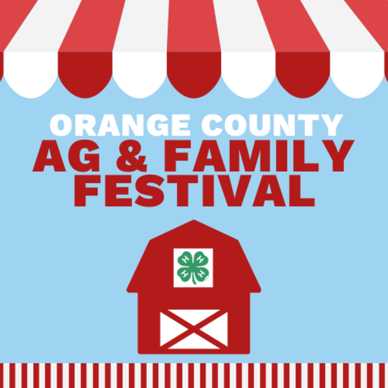 Click here for information on the 2021 Agriculture and Family Festival!