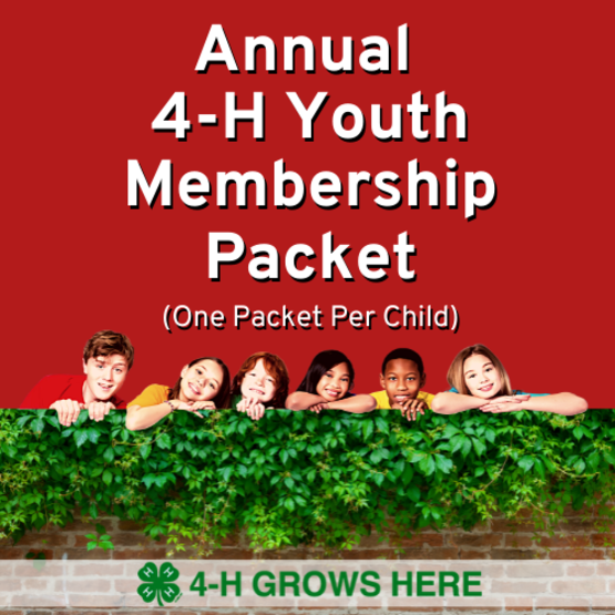 4-H Youth Menbership Packet