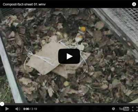 "Screenshot of the ""preparing food scraps"" compost video, CCE-Tompkins, for use as a link to that video on YouTube."