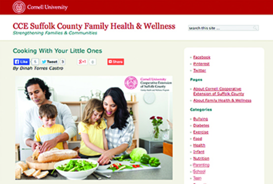 Family Health and Wellness, blog
