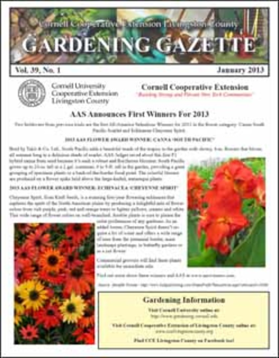 image of cover of Gardening Gazette, 250px wide, for use in sidebar