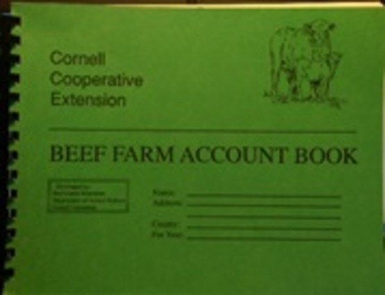 Beef Farm Account Book Promo