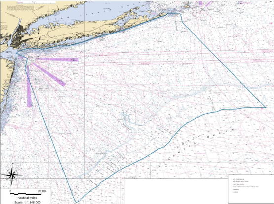 Ocean usage mapping