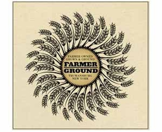 Logo for Farmer Ground Flour in Trumansburg, NY