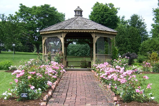 Available For Special Events. Gazebo At Cutler Botanic Garden