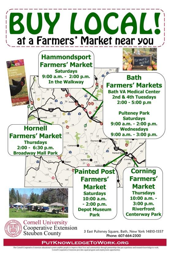 Steuben County Farmers Markets