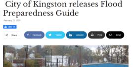 kingston flood preparedness in the news