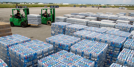 Bottled water fema