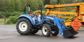 Touch a Truck--Tractor