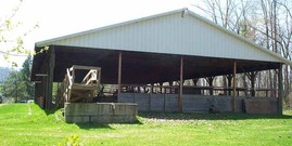 4h acres pole barn