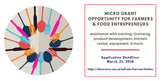 Food grant web banner