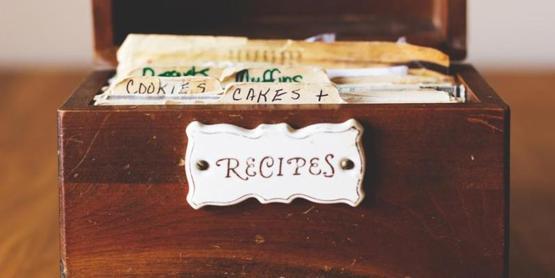 Recipes in box 925x