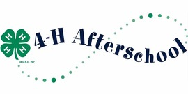 4-H Afterschool banner