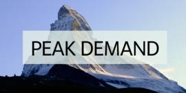 Peak demand spotlight no border