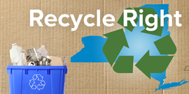 DEC Recycle Right NY Campaign