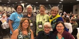 Master Gardner Volunteers at the 2019 International Master Gardener Conference