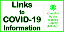 COVID-19 Public info links banner