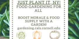 Just plant it NY advertisement
