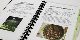 master gardener cookbook pages