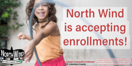 North Wind is currently accepting enrollments for both our After School Program and the new Remote Learning Assistance Program! Click here to learn more!