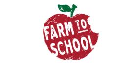 Farm to school logo screenshot.