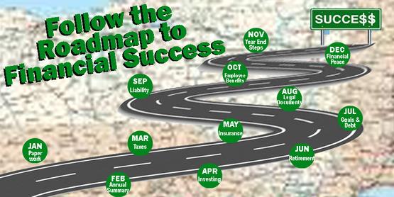 Follow the roadmap to financial success