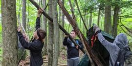 Heuvelton Outdoor Survival Lesson 2021