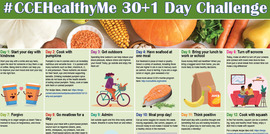 30+1 Day #CCEHealthyMe Challange