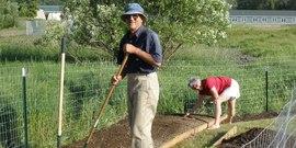 Schuyler gardening14