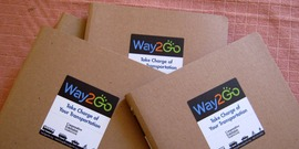 covers of the way2go transportfolio