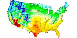 GDD US Map