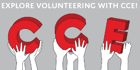 CCE Volunteering image, to link to http://blogs.cornell.edu/ccevolunteers/