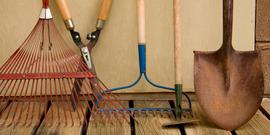 Istock garden tools