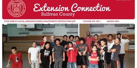 Extension Connection Sullivan County magazine cover March 2020