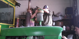 Tractor Machinery trianing