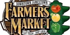 Jamestown farmers market logo