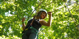 4-H Camp Wabasso High Ropes Course