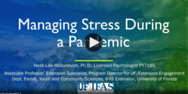 "Opening shot from video ""How to Manage Stress During A Pandemic"""