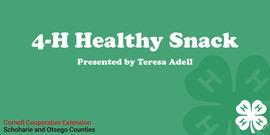 4-H Healthy Snack