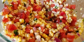 Fresh Corn Salad Recipe image, 2020